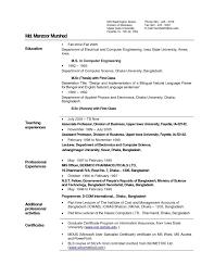 Resume Sample For Fresher Teacher Valid 18 Fresh Fresher Teacher
