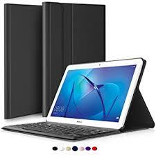 huawei 10 inch tablet. huawei mediapad t3 10 / 9.6 bluetooth keyboard portfolio case (qwerty) inch tablet