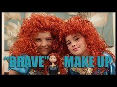 disney 39 s princess merida from brave makeup tutorial kittiesmama you