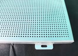 durable washable aluminum wall panels perforated corrugated metal ceiling panels