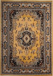 large traditional oriental area rug style 7 x 12