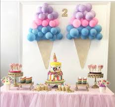 love this ice cream themed birthday party inspiration diy party ideas from juniper s 2nd birthday