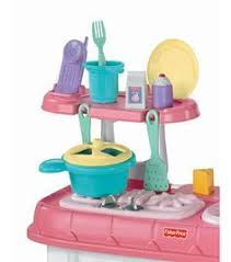 Fisher Price Grow With Me Cook And Care Kitchen   Pink