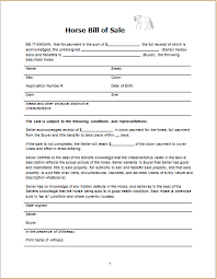 Bill Of Sale For A Horse Vehicle Yacht Horse Electronic Bill Of Sales Document Hub