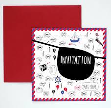Carte Invitation Anniversaire Pirate Sweet Party Day Achat Vente