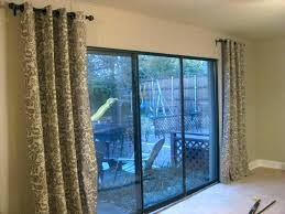 patio door draperies curtains for sliding glass drapes doors miraculous charming patio door drapes f9