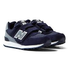 New Balance - <b>574 Hook and Loop</b> Admiral Blue - Babyshop.com