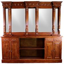 8 Mahogany Victorian BACK Bar Furniture Antique Replica Sale Home