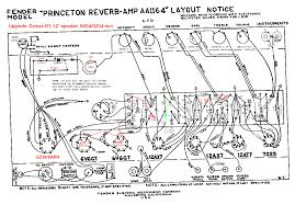 recommended fender bf princeton reverb clone mods mods version aa1164 good princetonreverb layout aa1164 gif