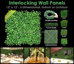 artificial plants outdoor