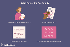 Modern Day Kids Resume Formatting Tips For Your Curriculum Vitae Cv