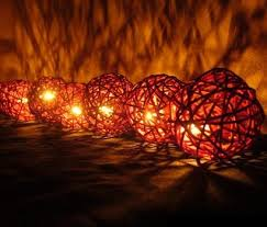 ball fairy lights. rattan ball-style fairy lights ball