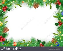 christmas and new year frame royalty free stock ilration