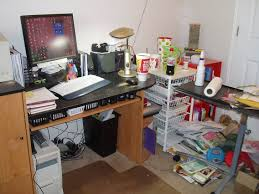 organize office desk. Organize Office. Office Before Desk E