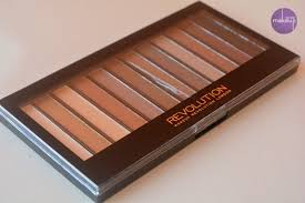 makeup revolution eye shadow palette review