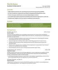 Sample Resumes For Business Analyst Business Analyst Free Resume Samples Blue Sky Resumes