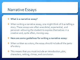 narrative essays  what is a narrative essay  when writing a  what is a narrative essay