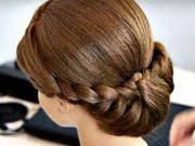 Pletený účes Pre Stredne Dlhé Vlasy
