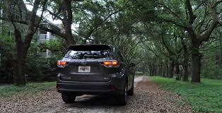 Travel Adventures - 2014 Toyota Highlander XLE Visits Oaks