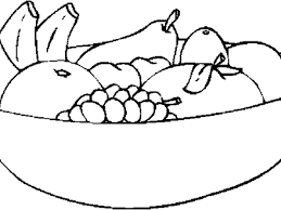 black and white fruit bowl clipart. Bowl Of Fruit Clipartsgramcom Dedfdef Fruits Clipart Black And White On