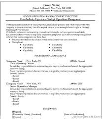 Microsoft Word Job Resume Template