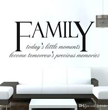 letter wall decals wall decals letter high quality family es wall decals vinyl self adhesive letters