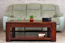 Walnut Living Room Furniture Jannet Walnut Mango Wood Coffee Table Coffee Tables Living