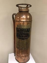 vintage badger fire extinguisher