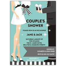 Couple Wedding Shower Invitations Starry Couple Wedding Shower Invitations