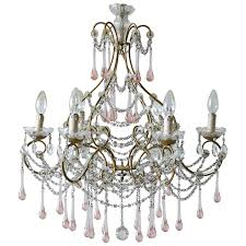 antique crystal chandeliers antique italian crystal chandelier circa 1890 at 1stdibs