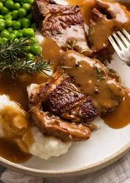 You experience these grilled lamb chops well before your first juicy bite. Lamb Chops With Rosemary Gravy Loin Chops Forequarter Cutlets Recipetin Eats