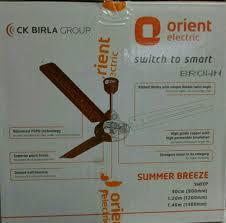 brown white orient summer breeze orient ceiling fan