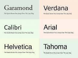 Best Fonts And Proper Font Size For Resumes Fonts Resume Fonts Stunning Best Font Size For Resume
