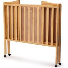 portable wooden crib designs