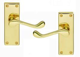 gold door handles. victorian scroll brass door handle set: quality carlisle handles: amazon.co.uk: diy \u0026 tools gold handles amazon uk