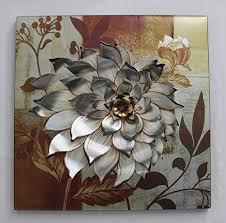 the dahlia flower metal wall art home decor http www amazon dp b00lwtosew ref cm sw r pi dp end1tb0w8hg3stb2 on amazon metal wall art flowers with the dahlia flower metal wall art home decor http www amazon dp