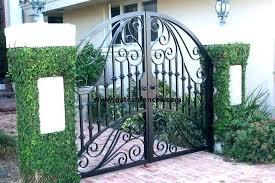 iron garden gates double iron gates double gate design garden gates walk thru gates wrought iron iron garden gates