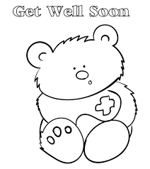 After printing, fold the card in coloring a get well card helps empower them and allows them to play an active role in the recovery of a family member or friend. Top 25 Free Printable Get Well Soon Coloring Pages Online