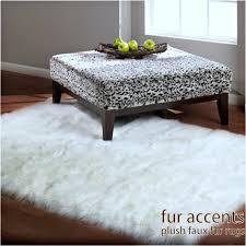 white plush area rug 5 faufur rectangular sheepskin area rug bright white or off white bear skin accent pelt rug plush soft fake fur throw rug new 6900 via