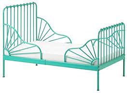 Minnen translated from dutch to english including synonyms, definitions, and related words. Amazon Com Ikea Minnen Ext Bed Frame With Slatted Bed Base Turquoise 893 237 61 Kitchen Dining