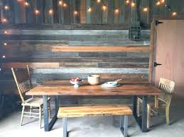 metal and wood dining table dining room well suited wood dining table with metal legs industrial metal and wood dining table