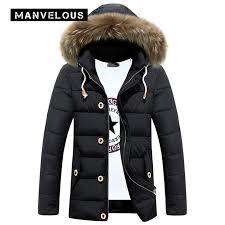 2019 manvelous hooded parka winter jacket men casual straight solid pocket down jacket 3 xl black mens winter jackets parkas coats from seein