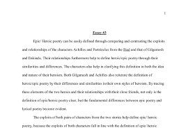 epic heroic poetry can be easily defined through comparing and document image preview