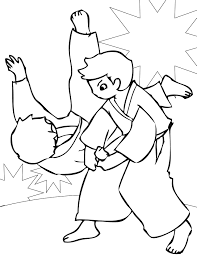 Small Picture Martial Arts Coloring Pages Handipoints