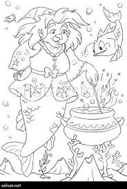 Little Mermaid Coloring Pages Online Little Mermaid Coloring Page
