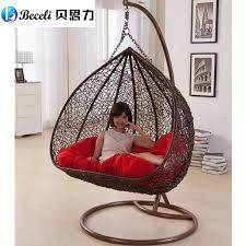 swing rocking chair indoor outdoor balcony casual rattan hanging chair double hanging basket in patio swings from furniture on aliexpress com alibaba