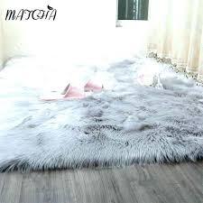 small faux fur rug grey faux fur rug blanket caramel white sheepskin long decorative blankets bed small faux fur rug