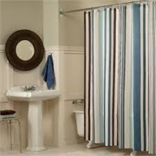 brown fabric shower curtains. Fabric Shower Curtains View All Flo Blue Brown