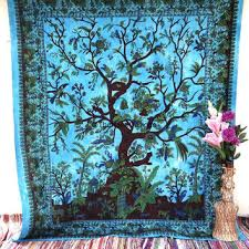 tree of life tapestry psychedelic star