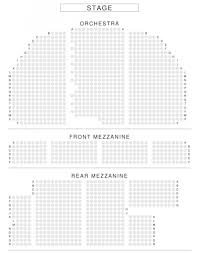 Theatre Seating Chart The Most Incredible Broadway Theatre Seating Chart Seating